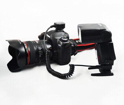 E-Ttl Blitzkabel Para Canon Como OC-E3 Cable Espiral 0,6-1m