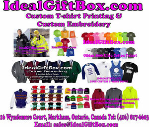 Custom T-shirts, hoodies, sweatshirt, jackets, team uniform, cap