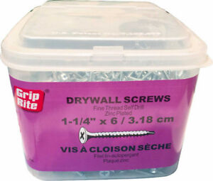 Grip-Rite Modified Truss/ Drywall Screw $9.99 per box!