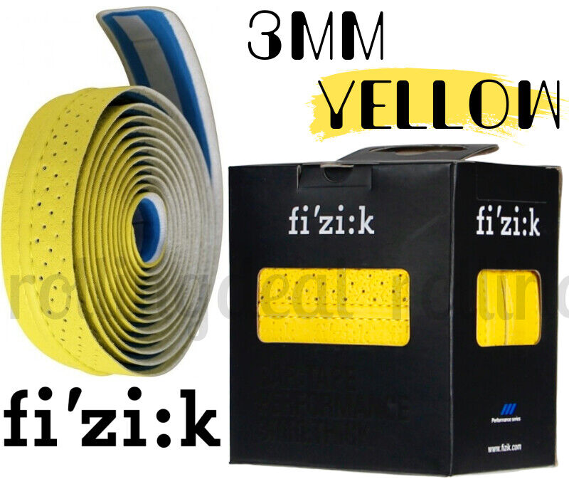 Green Genuine FIZIK Performance Classic 3mm Thick Bar Tape NIB