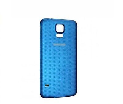 TAPA TRASERA BATERIA PARA SAMSUNG GALAXY S5 i9600/G900F color azul