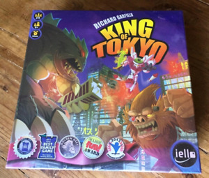King of Tokyo + Power Up Expansion Board Game