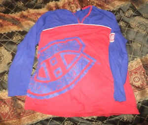 Vintage Montreal Canadiens long sleeve shirt West Island Greater Montréal image 1