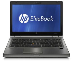 HP Elitebook8460w i-7 8core 2gig video Wow!!!-$225