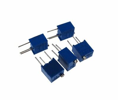 1k Ohm Multi-turn Trimmable Potentiometer 3266w - Pack Of 5