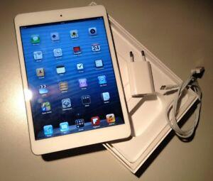 Excellent condition iPad mini LED (White) Wifi bluethooth 160$