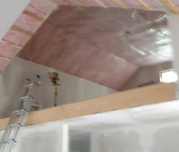 Drywall seam filling and renovations