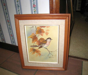 Very nice Small Oil Picture, wood frame