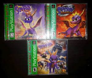 collection complete spyro ps1
