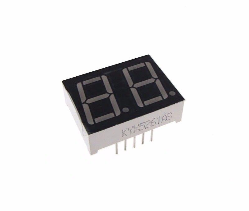 "0.56"" 2 Digit 7-Segment LED Display DIP common cathode - Green"