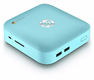 BRAND NEW HP GOOGLE CHROMEBOX DESKTOP OCEAN TURQUOISE