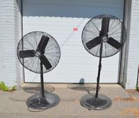 KING SHOP FANS * 5 Available in EX.COND  Mississauga