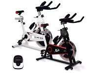 JLL IC300 Indoor Cycling Bikes 8kg two-way Flywhee 12 Months Warranty | Daddy Supplements