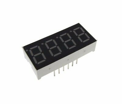 0.56 4 Digit 7-segment Led Display Dip Common Anode - Red