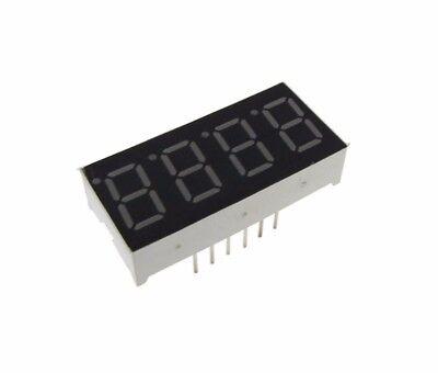 0.36 4 Digit 7-segment Led Display Dip Common Cathode - Green