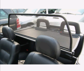 Vauxhall astra convertible 2001-2005 wind deflector