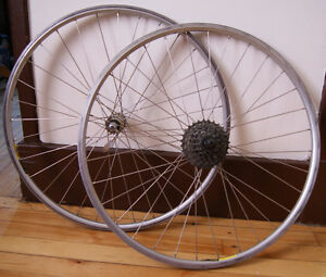 "MAVIC : Roues 26"" Alloy + 7speed + ACERA Hub *FRANCE* DoubleWall"