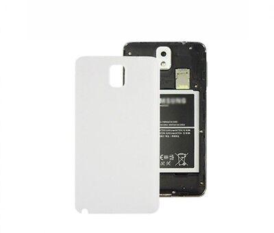 TAPA TRASERA CUBRE BATERIA PARA SAMSUNG GALAXY NOTE 3 N9000 N9005 Blanco