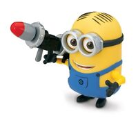 Despicable Me Dave Deluxe Action Figure with Rocket Launcher