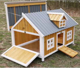 Deluxe Chicken Coop *Galvanised and high quality*