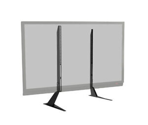 """TV TABLE TOP STAND UNIVERSAL FOR """"37-65"""" TV 110LBS"""