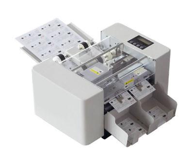 A4 Size Automatic Business Card Cutting Machine Electric Paper Card Cutter 220vu