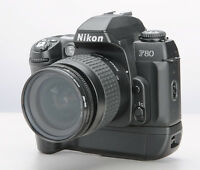 Nikon F80 35mm SLR Camera with battery grip