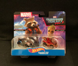 Hot Wheels Character Cars Marvel Guardians of the Galaxy Vol. 2