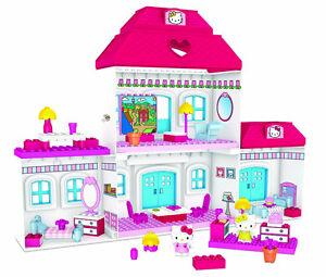 Mega Bloks Hello Kitty Create & Decorate Big House Set