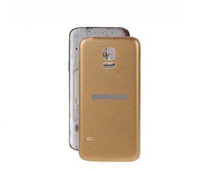 TAPA TRASERA CUBRE BATERIA PARA SAMSUNG GALAXY S5 mini G800F color dorado