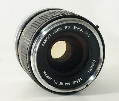 CANON LENS FD 35mm F2 [Excellnt] from JAPAN VCA1906-A-001