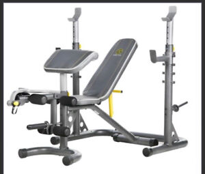 Golds gym XRS 20 squat and bench rack.