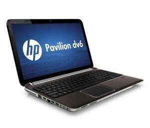 HP DV6 4g ram 160g hd Win 10 Warranty