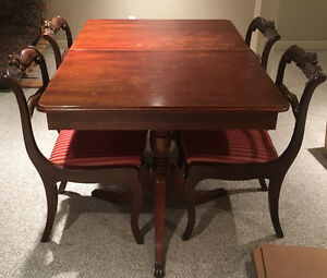 Kingsmill's Antique Table and Chairs
