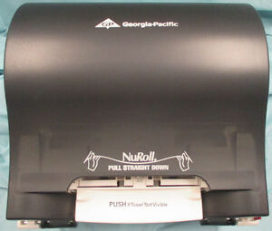 GP - NuRoll touchless towel dispenser 54087 with Smoke Color Stratford Kitchener Area image 1