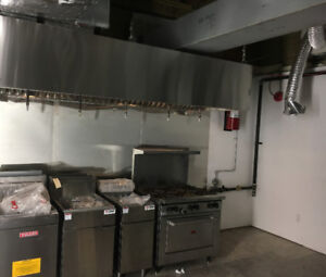 Commercial Kitchen Exhaust System,Hood,Fan,CO2,Furnace, A/C,Duct