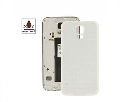 TAPA TRASERA CUBRE BATERIA PARA SAMSUNG GALAXY S5 i9600/G900F Blanco