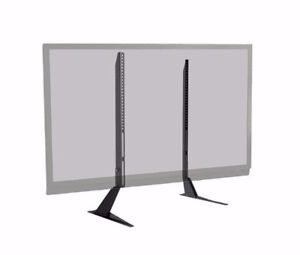 UNIVERSAL TABLE TOP TV STAND, TABLE TV MOUNT, TV SCREEN STAND BR