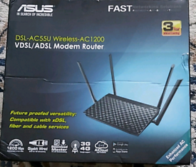 Brand new ASUS Dual-band wireless modem router rrp79..99