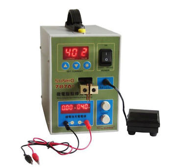 Sunkko787a 18650 Battery Welder Microcomputer Pulse Spot Welding Machine 110v