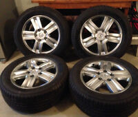 Never been used,  2010 Toyota Tundra Rims and Tires