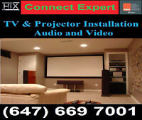 Projector Mounting☆Wall Mounting ☆TV Ceiling Mount Installation