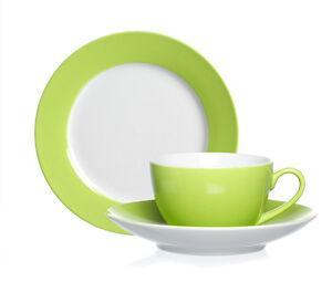 kaffeeservice gr n gedeckter tisch ebay. Black Bedroom Furniture Sets. Home Design Ideas