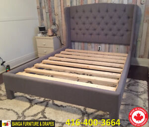 CANADIAN MADE BED FRAME & MATTRESS FACTORY OUTLET!