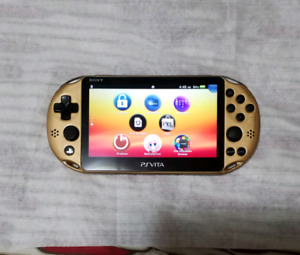 Ps vita slim 2001 henkaku gold