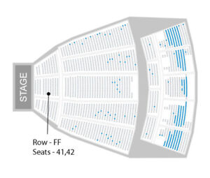 St. Vincent tickets @ Sony Center *ROW FF*