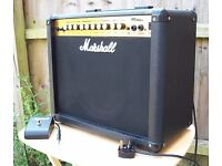 Marshall MG30DFX 30-Watt Combo Amplifier with Footswitch