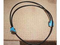 Dual link DVI cable 2m