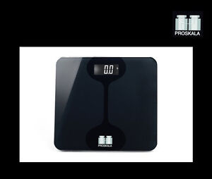 Proskala Marco 440 LB Digital Tempered Glass Fitness Bathroom Weight Body Scale