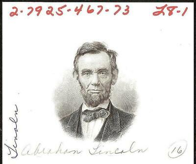 Lincoln Party (ABNCo PRESIDENT ABRAHAM LINCOLN PORTRAIT SPECIMEN AMERICAN BANK NOTE)